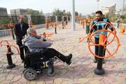مناسب سازی سه بوستان ویژه معلولان در منطقه ۱۱