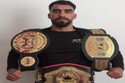 قهرمانی ملیپوش دلفانی در مسابقات کیک بوکسینگ گرجستان