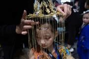 عکس روز: نمایشگاه مد کودکان در پکن