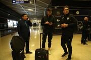 ورود کاروان تیم ملی فوتبال به اردن