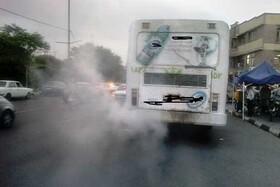تردد اتوبوسهای دودزا در پایتخت متوقف شد