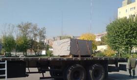 تصاویر | کشف سنگ تریاک یک تنی در راه پایتخت