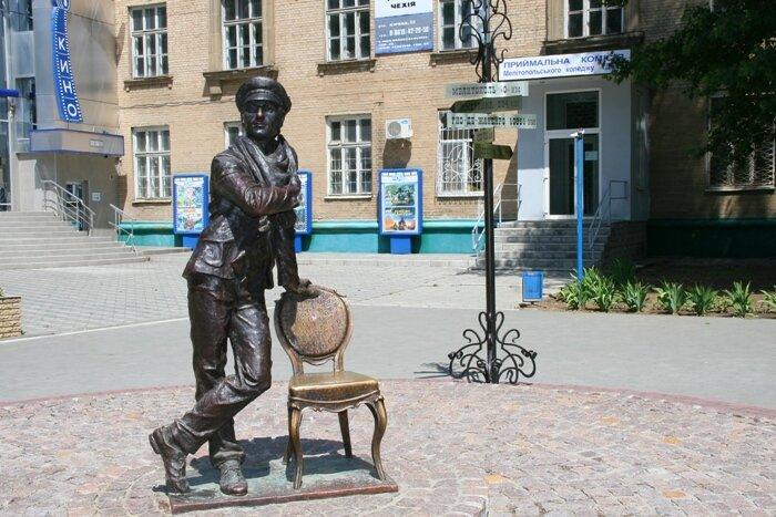 مجسمه آستاپ بندر در روسیه