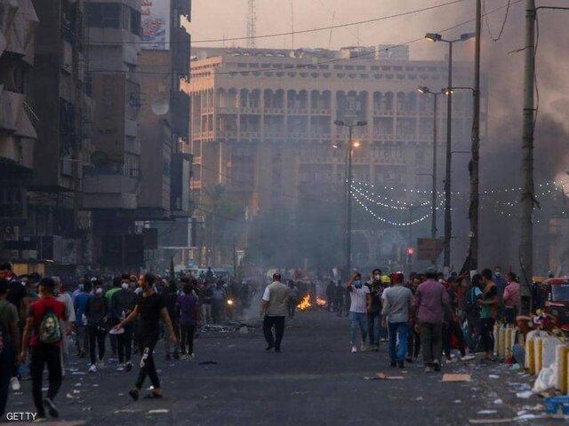 اصابت دو موشک به دو نقطه از بغداد