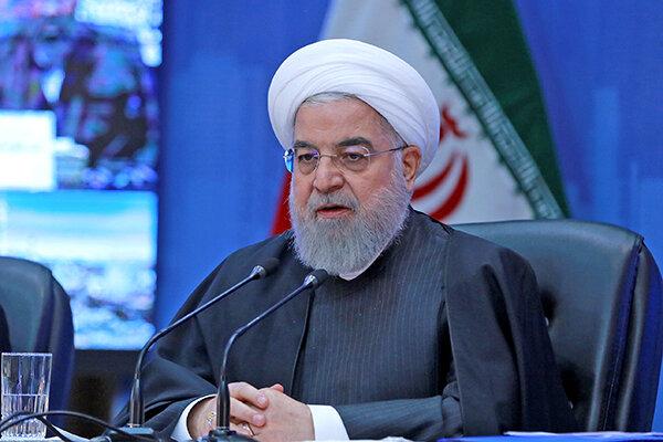 روحاني در شوراي اداري استان كرمان