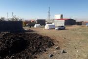 چادرنشینی در شبهای سرد بعد از زلزله