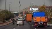 آمار تردد غیرقانونی کامیونهای دودزا در تهران | انتقاد رئیس مرکز کنترل ترافیک از پلیس راهور