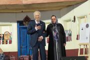 اهداء نشان درجه یک هنری به استاد موسیقی مازندرانی