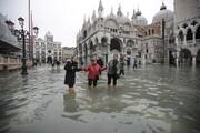 فیلم | بدترین سیلاب  ۵۰ سال اخیر در ونیز ایتالیا