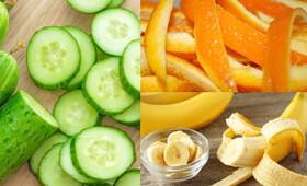پوست کدام میوهها و سبزیها را نباید دور ریخت؟