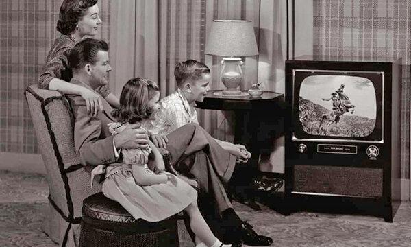 تلويزيون سياه و سفيد در بريتانيا