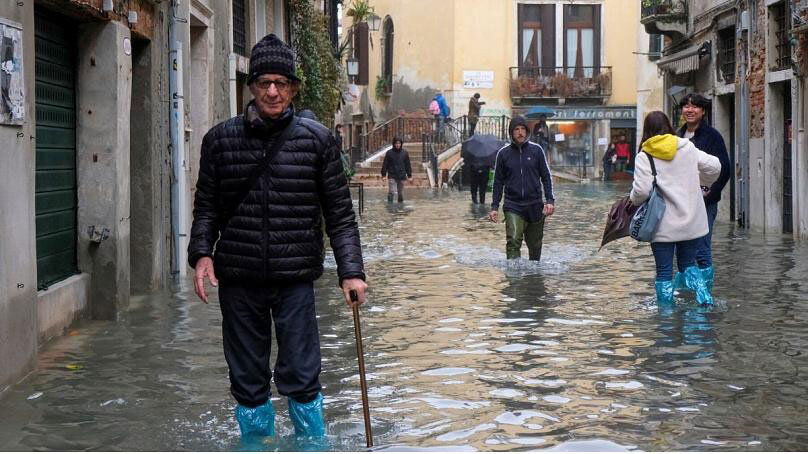 تصاویری از وضعیت ونیز
