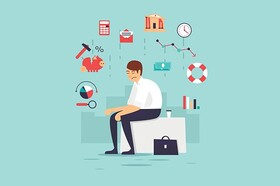نکته بهداشتی: مدیریت استرس مالی