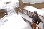 ۱۰ راه محافظت از خانه برابر بارش برف