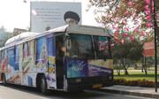 تبادل ۳ هزار جلد کتاب با مردم در  اتوبوس کتاب