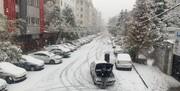 ترافیک تهران فقط به دلیل برف نبود | هیچ معبری به خاطر برف مسدود نیست