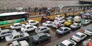 اعتراضات پراکنده در تهران | خالی کردن بار سنگ میان معترضین