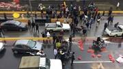 روایتی از آسیبدیدگی چند آتشنشان و خودروهای آتشنشانی در وقایع اخیر تهران