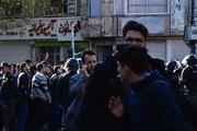 فیلم و روایت اعتراضات به گرانی بنزین در شهرهای مختلف