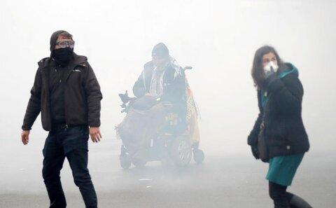 معترضان در نخستین سالگرد تظاهرات «جلیقه زردها» در پاریس با پلیس درگیر شدند