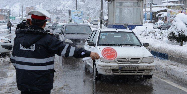 ترافیک - برف