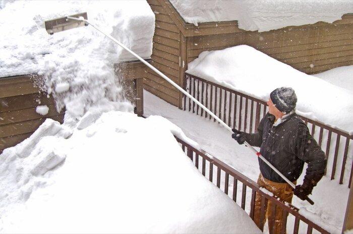 برف - پارو - زمستان