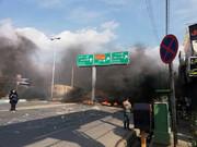 تصاویر | اعتراضات مردم ۷ شهر کشور به افزایش قیمت بنزین ؛ از البرز تا اصفهان و یزد