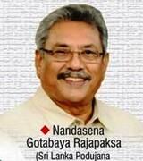 گوتابایا راجاپاکس رئیس جمهوری جدید سریلانکا شد