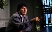مورالس درباره جنگ داخلی در بولیوی هشدار داد