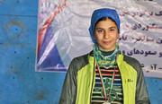 مدال برنز سنگنوردی جوانان آسیا بر گردن محیا دارابیان