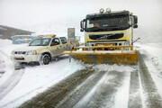 برفروبی ۶ هزار و ۲۰۰ کیلومتر باند از جادههای استان مرکزی