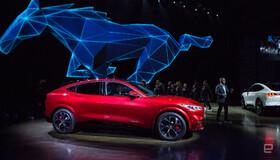 نخستین خودرو شاسیبلند تمامبرقی فورد موستانگ به بازار میآید