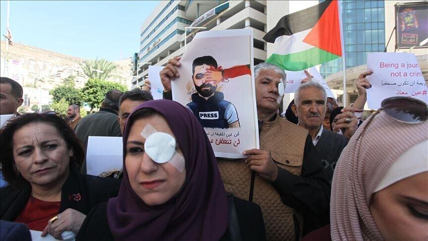 همبستگي با معاذ عمارنه فلسطين