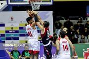 هفته پنجم لیگ برتر بسکتبال؛ پیروزی نفت مقابل مهرام