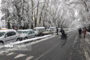شدت برف و باران در استان سمنان |خطر وقوع سیلاب و جاری شدن روانآبها