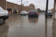 تلاش میراث فرهنگی و مردم برای کاهش خسارات باران در بافت جهانی یزد