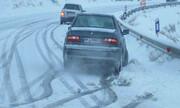 گزارش وضعیت راهها | بارش برف در محورهای شش استان |لزوم تردد با زنجیر چرخ