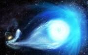 سیاهچاله مرکز کهکشان راه شیری ستارهای به بیرون آن پرتاب میکند
