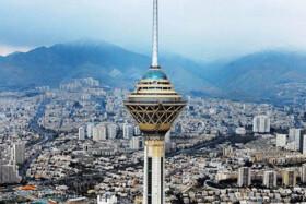 هوای تهران در وضعیت سلامت