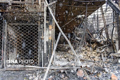 خسارتهای وارد شده به اموال عمومی در البرز