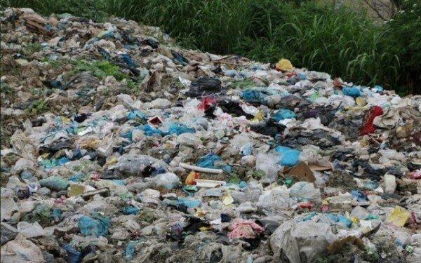 زباله تموشل در لاهیجان