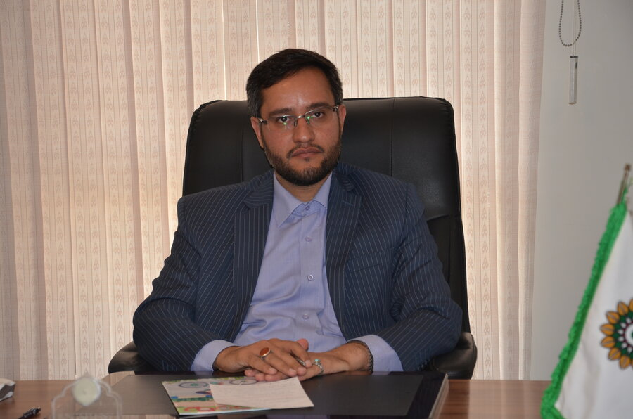 مصطفی بیات مدیر فرهنگسرای عترت
