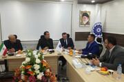 دیدار سرکنسول قزاقستان با نائب رییس اتاق بازرگانی اهواز