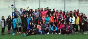 بانوان گیلانی قهرمان مسابقات قایقرانی آبهای آرام کشور شدند