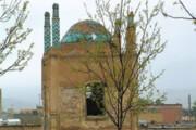 مقبره شهدا در بجنورد منتظر چراغ سبز ارتش