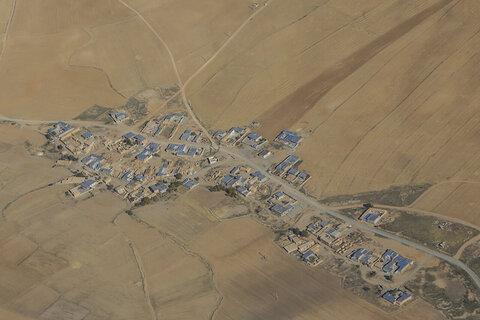 تصاویر | چند نمای هوایی از روستاهای استان کردستان