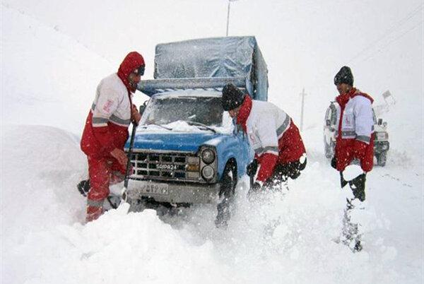 امداد - برف