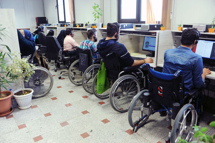 کار معلولان
