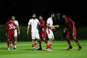 شکست تیم فوتبال امید ایران مقابل المپیک قطر