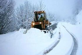 محور سمنان ـ فیروزکوه به علت بارش برف مسدود شد